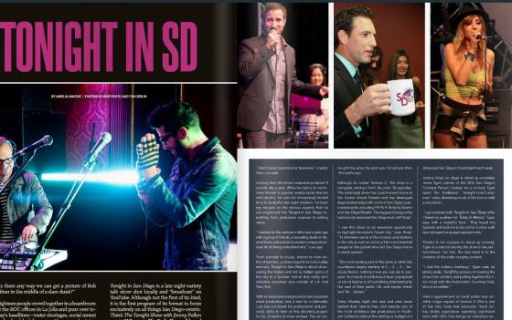 Published in SD Magazine