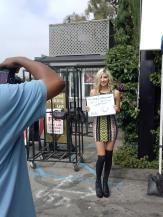 Behind the scenes for Chris Brown feat. Nicki Minaj Music Video shoot
